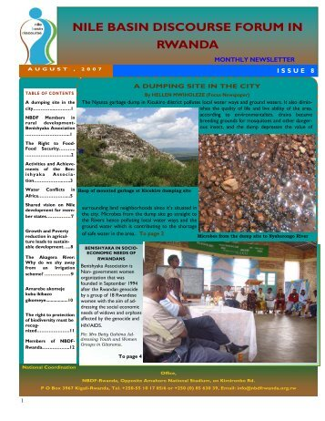 Read NBDF Newsletter Issue N. 8 - NBDF Rwanda