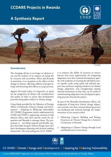 CCdare Projects in rwanda a Synthesis report ... - NBDF Rwanda