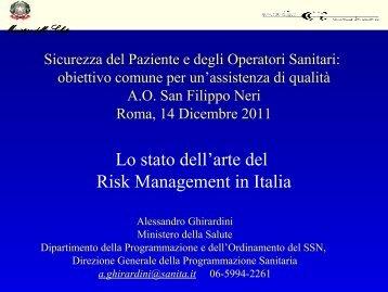 Ministero della Salute - Azienda Complesso Ospedaliero San ...