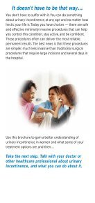 Stress Urinary Incontinence in Women - Page 4