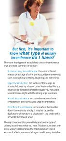 Stress Urinary Incontinence in Women - Page 5