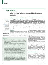Stillbirths: how can health systems deliver for ... - ResearchGate