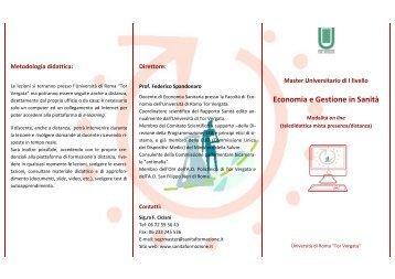 brochure - Azienda Complesso Ospedaliero San Filippo Neri