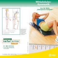 Ratgeber Wirbelsäulengymnastik - Osteoporose