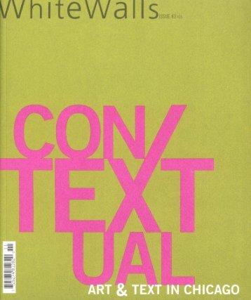 Contextual (pdf 6.3 MB) - Ellen Rothenberg