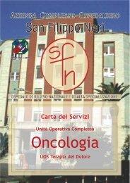 Oncologia - Azienda Complesso Ospedaliero San Filippo Neri