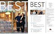 LIVING MODERN IN CINCINNATI - Best is Cincinnati's Best Magazine
