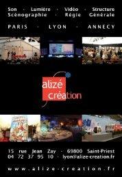 alize creation