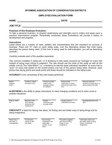 Sample Board Performance Evaluation Form  Center For Corporate