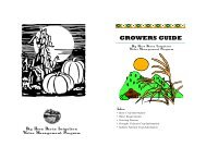 GROWERS GUIDE - Wyoming Association of Conservation Districts