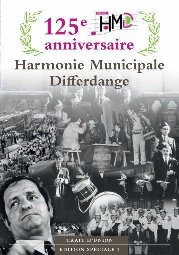 125e anniversaire de l'Harmonie Municipale Differdange Le comité ...