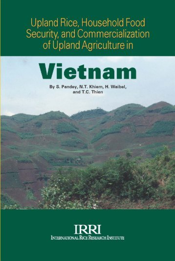Upland rice, household food security, and ... - IRRI books