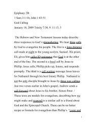 Epiphany 2B 1 Sam 3:1-10, John 1:43-51 God Calling January 18 ...