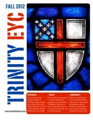 to downdload the EYC Fall 12 Newsletter - Trinity Episcopal Cathedral