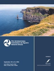 13th International Conference on Aquatic Invasive Species - ICAIS