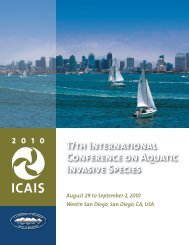 17th International Conference on Aquatic Invasive Species - ICAIS