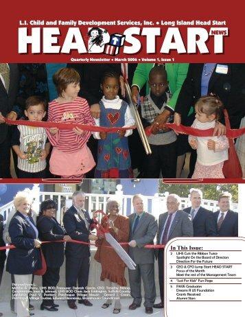 Newsletter Spring 2006 SHARED 2x - Long Island Head Start