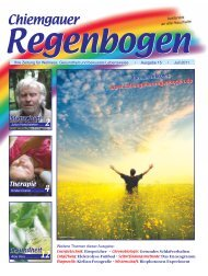 83324 Ruhpolding Maximilianstr. 21 ... - Chiemgauer Regenbogen