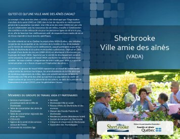Bilan des actions (PDF - 585 Ko) - Ville de Sherbrooke