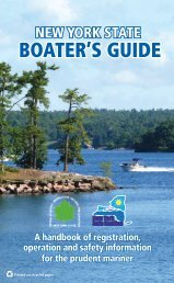New York State Boater's Guide