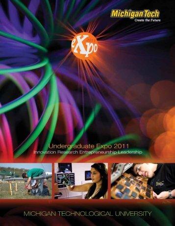 Download 2011 Michigan Tech Undergraduate Expo PDF