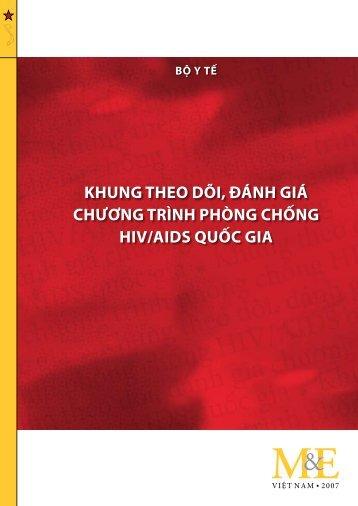 khung theo dõi, đánh giá chương trình phòng chng hiv/aids quc gia