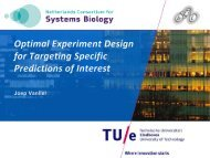 Presentation by Joep Vanlier - NCSB