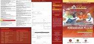 Brosur Panggilan Peserta - space seminar main page