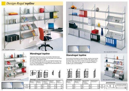 Design-Regal topline - Geschäftsausstattung von fws-moebel