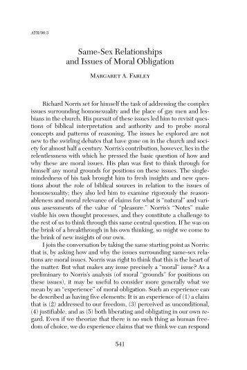 Margaret A. Farley, Summer 2008 (V.90 | N.3) - Anglican ...