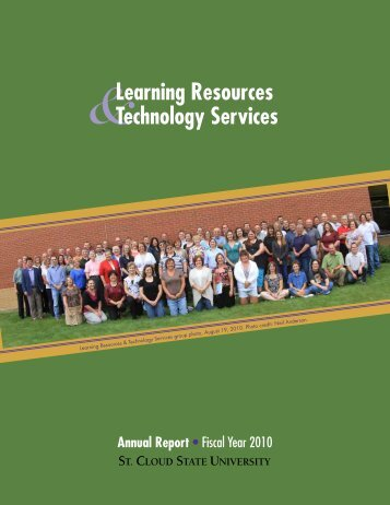 2009-2010 LR&TS Annual Report - Learning Resources Services ...
