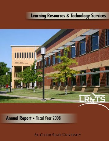 2007-2008 LR&TS Annual Report - Learning Resources Services ...