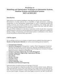 Call for papers - space seminar main page