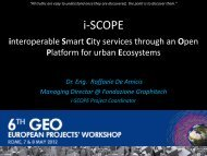 i-SCOPE - Group on Earth Observations