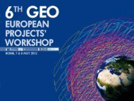 ceop-aegis - Group on Earth Observations