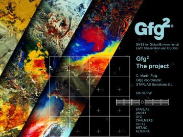 GNSS for Global Environmental Earth Observation and GEOSS