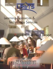 2005-2006 LR&TS Annual Report - Learning Resources Services ...
