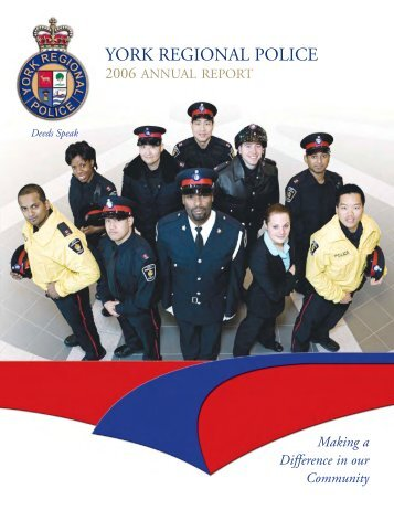 2006 Annual Report - York Regional Police