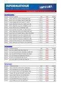 Grafische kaarten NVIDIA Grafische kaarten ATI ... - Informatique - Page 5