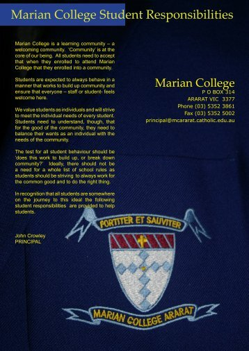 download - Marian College
