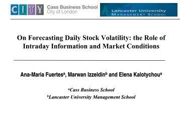 Volatility (finance)