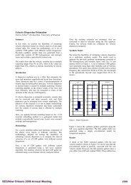 Velocity dispersion estimation - OnePetro