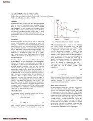 Velocity and dispersion of heavy oils - Rpl.uh.edu - University of ...