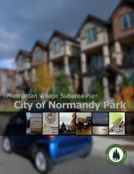 Manhattan Village Subarea Plan - City of Normandy Park