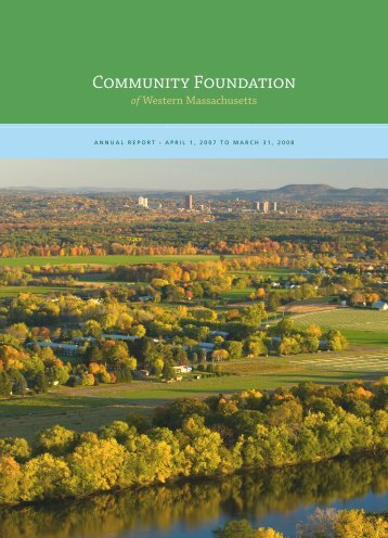 Annual Report - Community Foundation of Western Massachusetts