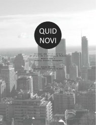 Quid Novi - McGill University