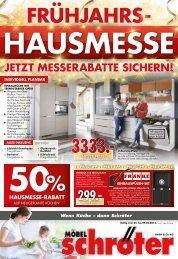 Moebel Schroeter Fruehjahrshausmesse Einleger 1015