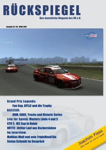 Joachim Fiess - Virtual Racing ev