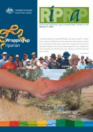 Wrapping up riparian - Guide to Rural Residential Living
