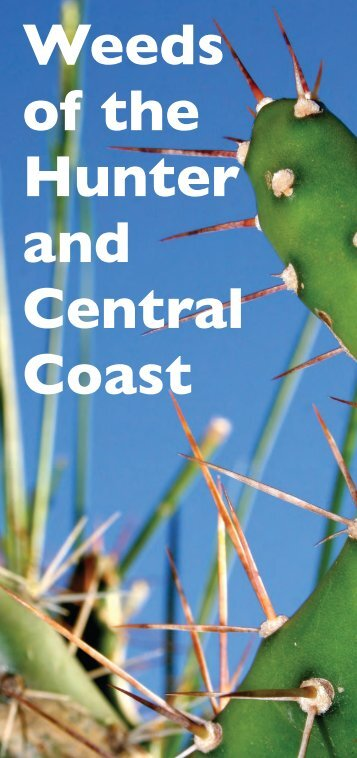 Weeds of the Hunter and Central Coast - HCCREMS